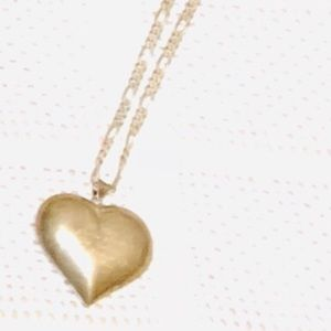 Jewelry - Sterling silver puff heart